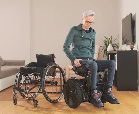 transfer wheelchair KIM1